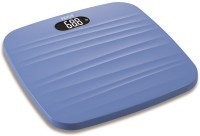 Venus Ultra Lite Electronic Digital Strong Plastic Body Personal Bathroom Health Body Fitness Weight With White Back Light Weighing Scale (Blue)