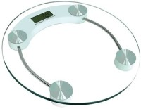 Dits 8mm Round Glass Weighing Scale (White)