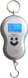Venus A-04 Silver Digital Luggage Travel Cylinder Raddi 40 Kg Weighing Scale