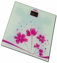 Venus SVASTIKA-115 Thick Glass Printed Weighing Scale (Digital) Weighing Scale - Pink