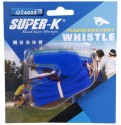Super-K With Kernel Pealess Whistle - Blue, Pack Of 1