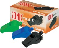 Vinex Sonic (Pack Of 12 Pcs) Pea Whistle (Green, Blue, Black, Pack Of 12)