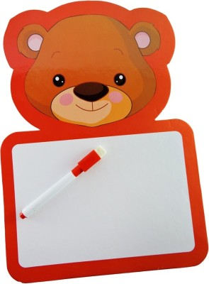Klassik Animal Regular Non Magnetic Card Board Medium Whiteboards (Set Of 2, Multicolor)