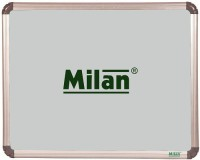 Milan Ceramic Magnetic Steel Matt Writing Cum Projection 1.5 X 2 Ft Whiteboards (Set Of 0, White)