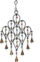 Boxmywish Designer 16 Bells Iron, Brass Windchime
