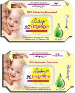 Salang Baby Wipes Aloveera 80Pcs