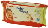 Pigeon Baby Wipes Chamomile & Rosehip (82 Pieces)
