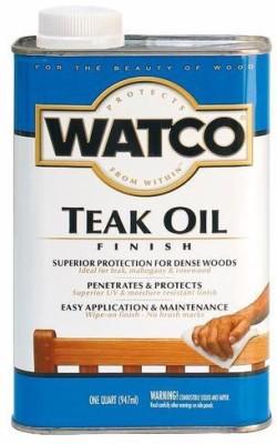 WATCO-A67141-Clear,-Teak-Oil-Wood-Varnish