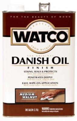 WATCO 65931 Medium Walnut, Danish Oil Wood Varnish