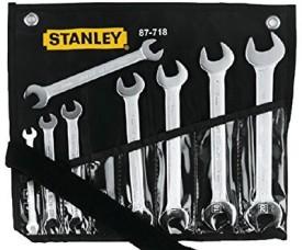 1-87-712 7 Pcs Double Open End Wrench Set
