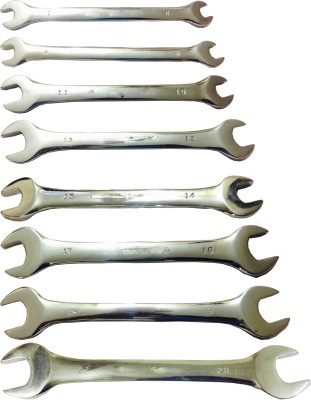 TS712101 Double Sided Open End Spanner Set