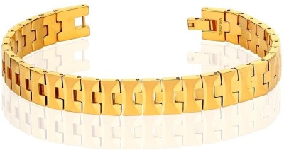 Peora Tungsten Carbide Men?s Bracelet with IP Gold Plating PTB544 Men, Boys Gold, Pack of 1 available at Flipkart for Rs.3811