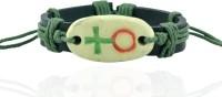 Alphaman Men Wrist Band Green, Black, Pack Of 1