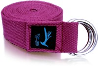 Top Yogi Belt Cotton Yoga Strap (Maroon)