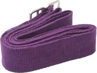 TAPAS 100% Cotton TYS008 Metallic Adjuster Buckle Cotton Yoga Strap (Purple)