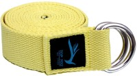 Top Yogi Belt Cotton Yoga Strap (Yellow)