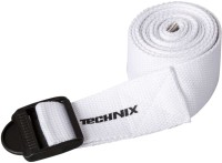 Technix 8907313001422 Cotton Yoga Strap (White)
