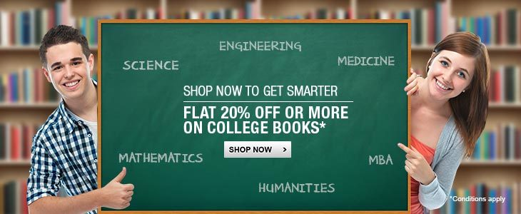 Select Academic Books - Extra 20% Off