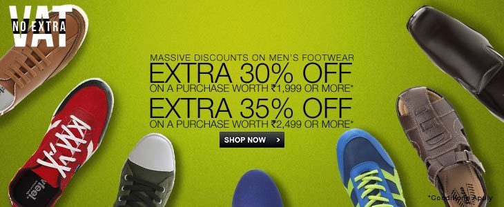 Men's Footwear Select Men's Footwear - Extra 35% Off