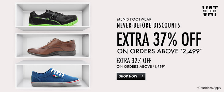 Men's Footwear - Extra 37% off