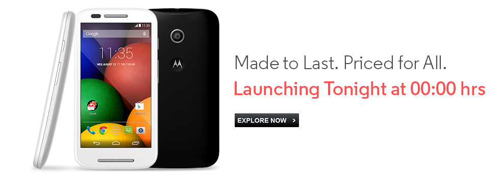 Motorola Launched New Low Budget Effective Smart Phone - Moto E