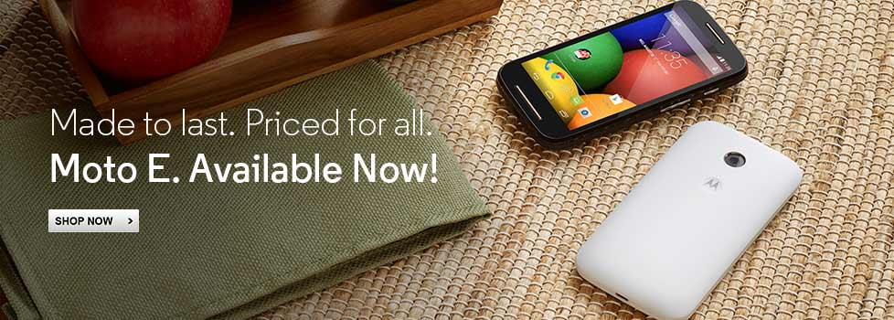 Moto E Out of Stock, Coming Soon