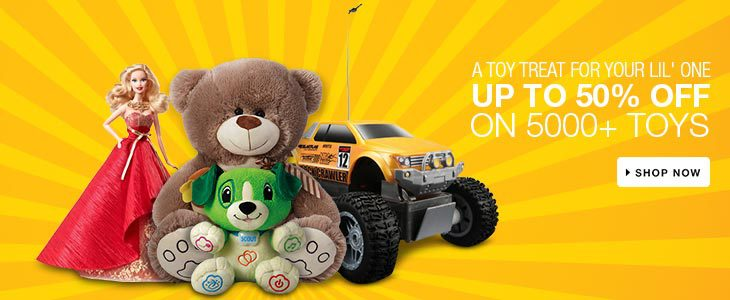 Toys @ Rs.99 @ Flipkart – Rs. 99 – Baby Care & Toys