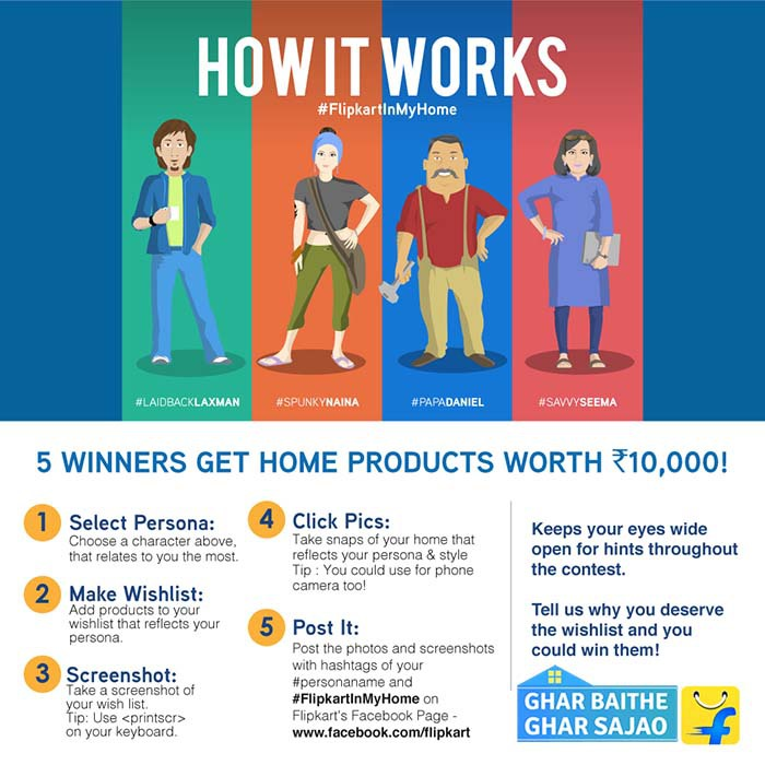 10k worth of goodies from Flipkart up for grabs