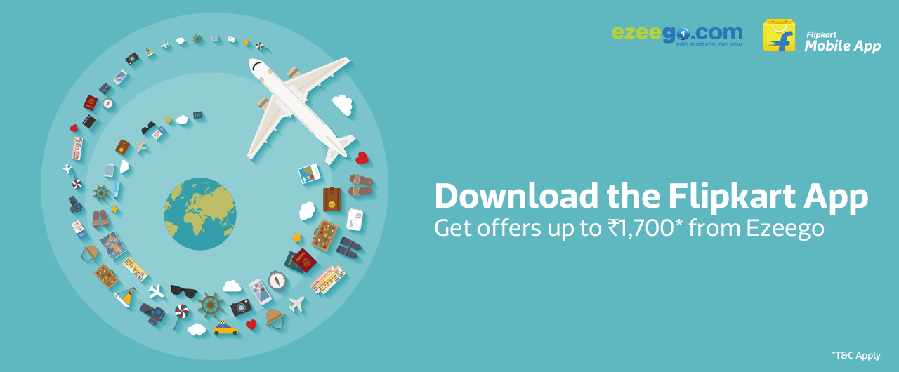 download flipkart app and get rs1700 from ezeego