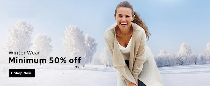 Minimum 50% off On Women's Clothing