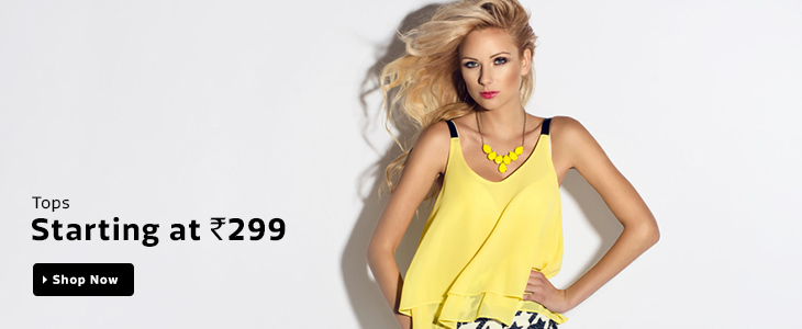 Women's Clothing starting at Rs.299