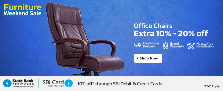 Flipkart Furniture Weekend Sale - Upto 80% Off + Extra 10% Off (SBI Card Holders) 3