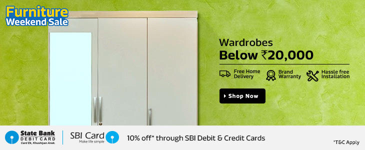 Flipkart Furniture Weekend Sale - Upto 80% Off + Extra 10% Off (SBI Card Holders) 1