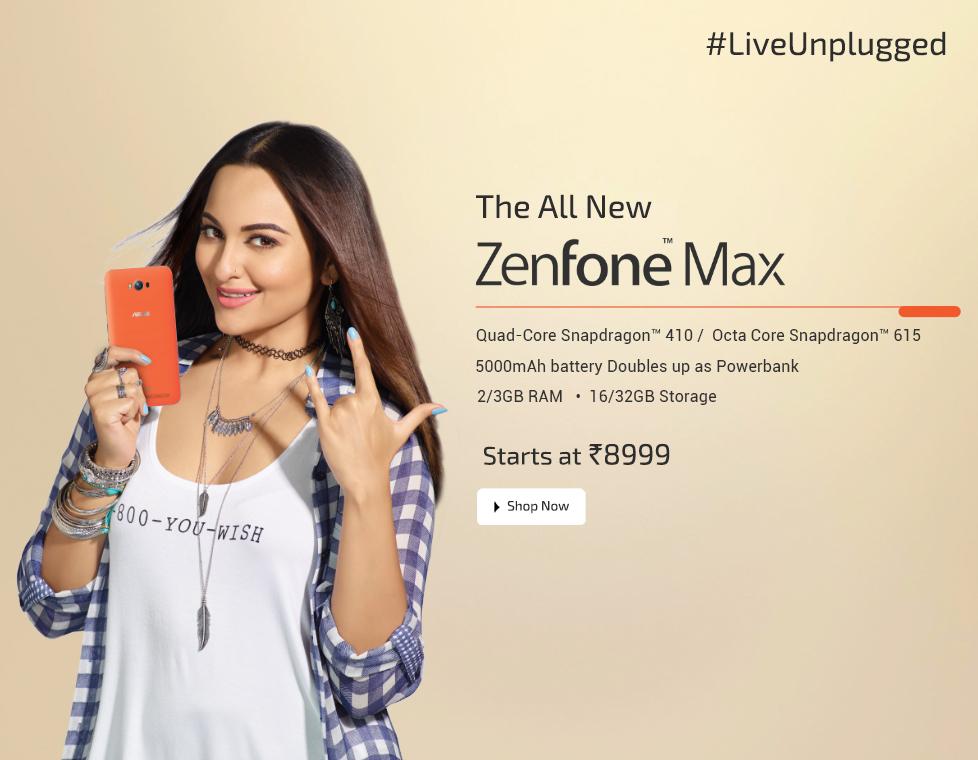 Today?s Asus Zenfone Big Billion Days Price, Exchange Offers and Cashback Deals