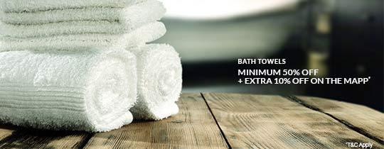 Deals | Bath Towels - At Just Rs.149