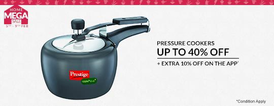 Deals | Up To 40% Off On Pressure Cookers