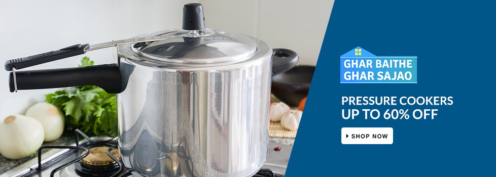 UP TO 60% OFF on Pressure Cookers