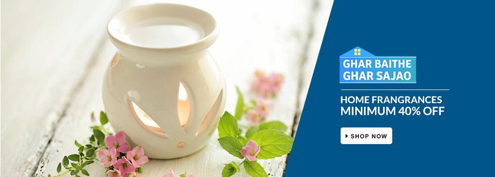 MINIMUM 40% OFF on Home Fragrances