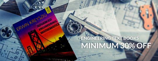 Deals | Minimum 30% Off On Engineering Text Books
