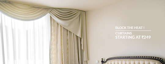 Deals | Window Curtains Starting At Rs.275