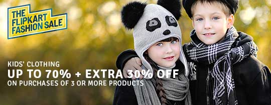 Deals | Kids Clothing - UP TO 70% + EXTRA 30% OFF