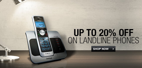 Deals | upto 20% off on landline phones