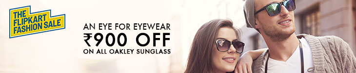 Deals - Delhi - Rs 900 off on all oakley sunglasses<br>Business - Flipkart.com